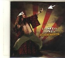 (DT962) Laszlo Jones, Download Me I'm Free - DJ CD