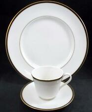 Royal Doulton OXFORD BLACK Dinner Plate + Cup & Saucer TC1189 GREAT CONDITION