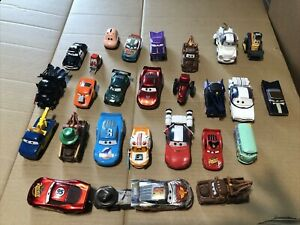 Lot of 27 Disney Pixar Cars Various Quality Used Die Casts a few plastic pieces