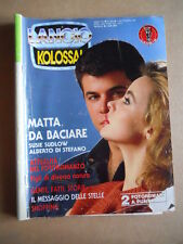KOLOSSAL Fotoromanzo n°204 1987 ed. Lancio  [G581]* MEDIOCRE