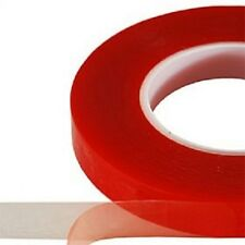 "1/2"" 33 Ft Multi-Purpose Thin Extra Strength Clear Double Sided Stick Tape"