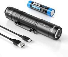 WUBEN C3 Taschenlampe wiederaufladbare LED taktische Lampe, USB-C, mit Akku