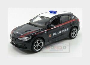 Alfa Romeo Stelvio Carabinieri 2017 Novità  BURAGO Modellino scala 1:24
