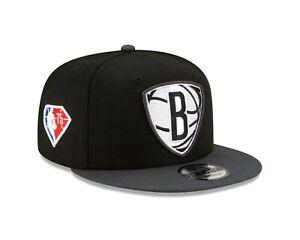 Brooklyn Nets New Era  NBA Draft On-Stage 9FIFTY Snapback Adjustable Hat - Black