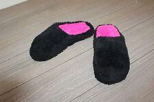 **DF By Dearfoam Women's Closed Toe Slipper - Black - Size S 5/6