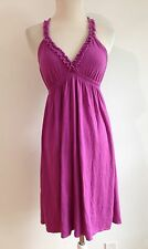 Victoria's Secret Bra Tops Knit Sleeveless Dress Magenta Size S