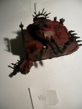 Warhammer 40k Forgeworld Chaos Space Marine Predator Lot V.6