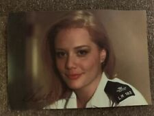 Signed Bad Girls Star Charlotte Lucas As Selena Geeson A6 Photo
