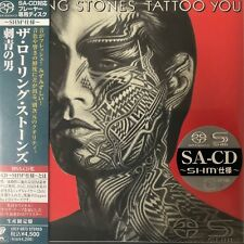 Tattoo You by The Rolling Stones (SACD-SHM. jp. mini LP), 2011,UIGY-9073 Japan