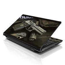 """13.3"""" 15.6"""" 16"""" Laptop Skin Sticker Notebook Decal Police Weapon Gun M-459"""