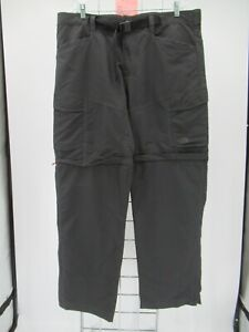 K7312 VTG Men's The North Face Paramount Peak II Convertible Pants Size XL