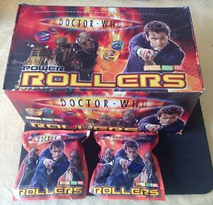 Counter Display Unit Of Doctor Who Power Rollers ,24 Packs ( 2 in each pack )