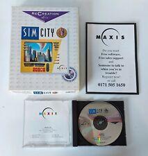 SIM City-PC CD Rom, BIG, Box, Mac