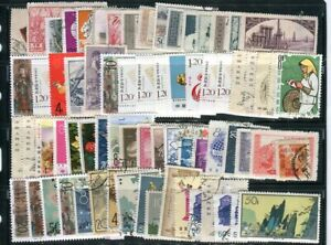 PRC Collection +/- 1,050 Mint & Used stamps. Early to late issues, City cancels.