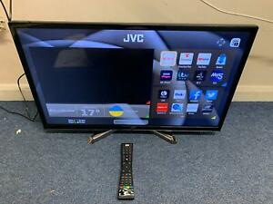 """JVC LT-32C785 32"""" Smart LED TV with Built in DVD Player Used Good Cond (HC)"""