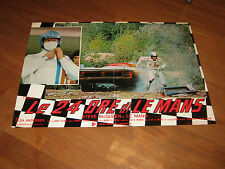 FOTOBUSTA,Le 24 Ore di Le Mans,1972,Steve McQueen,Porsche 908,AUTO CAR RACE