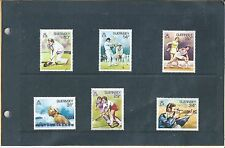SPORT IN GUERNSEY 24 JULY 1986 - 6 STAMP - PRESENTATION PACK - UNMOUNTED MINT