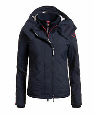 Superdry Hooded Sherpa Quilted Windcheater Jacket