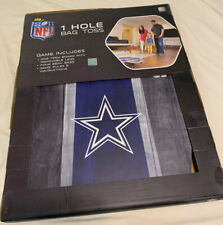 Official NFL Dallas Cowboys (Jerry Jones)- 1 Hole Bean Bags Hole Toss- Hard Wood