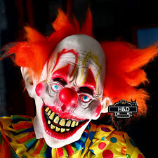 Full Face Small Clown FunScary Latex Mask Halloween Costume Prop Cosplay Tool