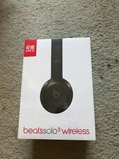 New listing Brand New, Never Opened Beats by Dr. Dre Solo3 Wireless Headphones - Black