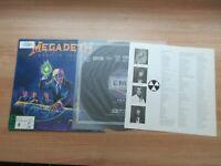 Megadeth - Rust In Peace 1991 Rare Korea Edition Vinyl LP Insert No Barcode
