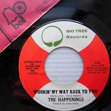 HAPPENINGS 45 WORKIN MY WAY BACK TO YOU four seasons / STRAWBERRY MORNING  e0379