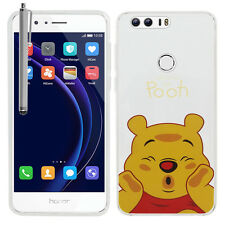 """Coque Housse Silicone TPU Ultra-Fine Winnie the Pooh Huawei Honor 8 5.2"""" +Stylet"""