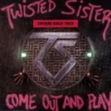 Twisted Sister Come out and Play 1985 CD Japan USA Atlantic 781275-2 MINT