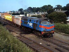 PHOTO  1989 WEED CONTROL TRAIN LEAVING BANGOR RAILWAY STATION FOR MANY YEARS NOR