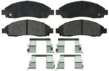 Disc Brake Pad Set-Ceramic Disc Brake Pad Front ACDelco Advantage 14D1039CH