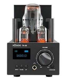 xDuoo TA-30 HiFi Tube Headphone DAC & Tube Amplifier with Bluetooth 5.0 3000mW