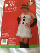 Sexy Snowgirl Adult Fancy Dress Christmas New Year Party