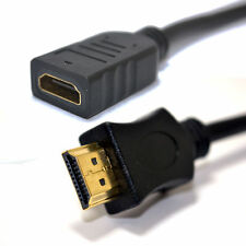25 Cm Hdmi 1.4 Tv en 3D de alta velocidad de cable de extensión con Ethernet 0,25 m [ 006173 ]