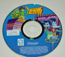 Knowledge Adventure Reading Blaster Ages 6-9 Version 1.0.2c Win 95 Disc Only B1