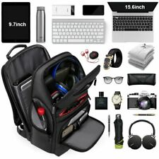 Laptop Backpack Large Capacity Notebook Daily Trip Computer Bag Multi Function U