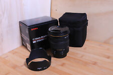 sigma 17-50mm f/2.8 ex dc os hsm for Canon APS-C mount DSLR cameras