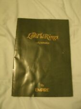 LORD OF THE RINGS , A CELEBRATION BOOKLET