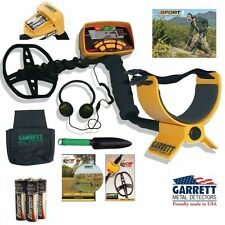 Garrett Ace 350 Metal Detector with Headphones, Treasure Pouch, and Digging Tool