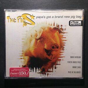 The Pigs - Papas Got A Brand New Pig Band - CD Single