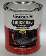 Rust-Oleum 342668 Truck Bed Coating, Black 1 Quart
