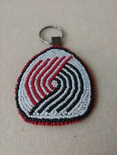 Portland Trailblazers Beaded Leather Souvenir Trail Blazers Seed Bead