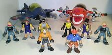 Fisher price Imaginext figure and plane lot