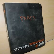 CHAMPION PRO-PAV SERIES 1010W 1010WH PAVER Parts Book Catalog Manual list spare