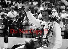 Jim Clark Lotus Ford 38/1 Winner Indianapolis 500 1965 Photograph 15