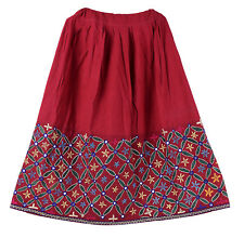 VINTAGE KUCHI BOHO COLLECTIBLE RABARI BANJARA TRIBAL ETHNIC BELLY DANCE SKIRT