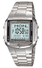 Casio Watch * DB360-1A Databank Digital Chronograph Silver Steel COD PayPal