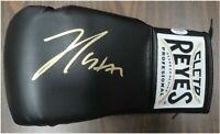Julio Cesar Chavez Sr Signed Autographed Cleto Reyes Boxing Glove Black PSA/DNA