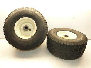 Cub Cadet LT-1024 1050 1042 Tractor Cheng Shin 15x6.00-6 Front Tires & Rims