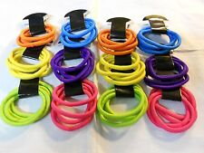 50 pcs  Hair Ties Pony Tail Holders Mixed Colors .